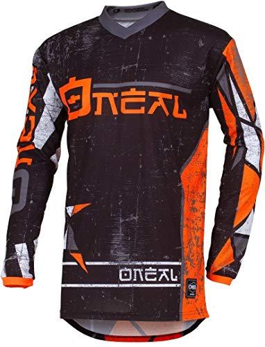 Oneal ELEMENT JERSEY Equipación para Montar En Bicicleta y Motocross, S, Naranja