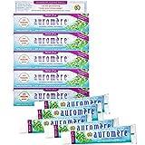 Auromere Ayurvedic Herbal Toothpaste, Mint Free - Vegan, Natural, Non GMO, Fluoride Free, Gluten...