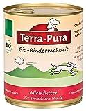 Terra Pura Bio Hundefutter Rindermahlzeit 800 g Glutenfrei