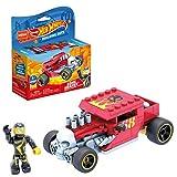 Mega GVM29 - Mega Construx + Hot Wheels Bone Shaker Fahrzeug zum zusammenbauen, Spielzeug Bauset, für Kinder ab 5 Jahren, mehrfarbig