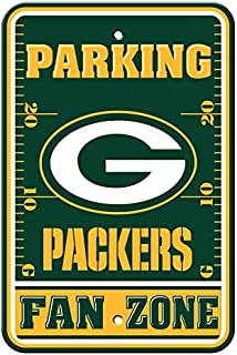 Fremont Die Official National Football League Fan Shop Authentic NFL Parking Sign (Green Bay Packers)