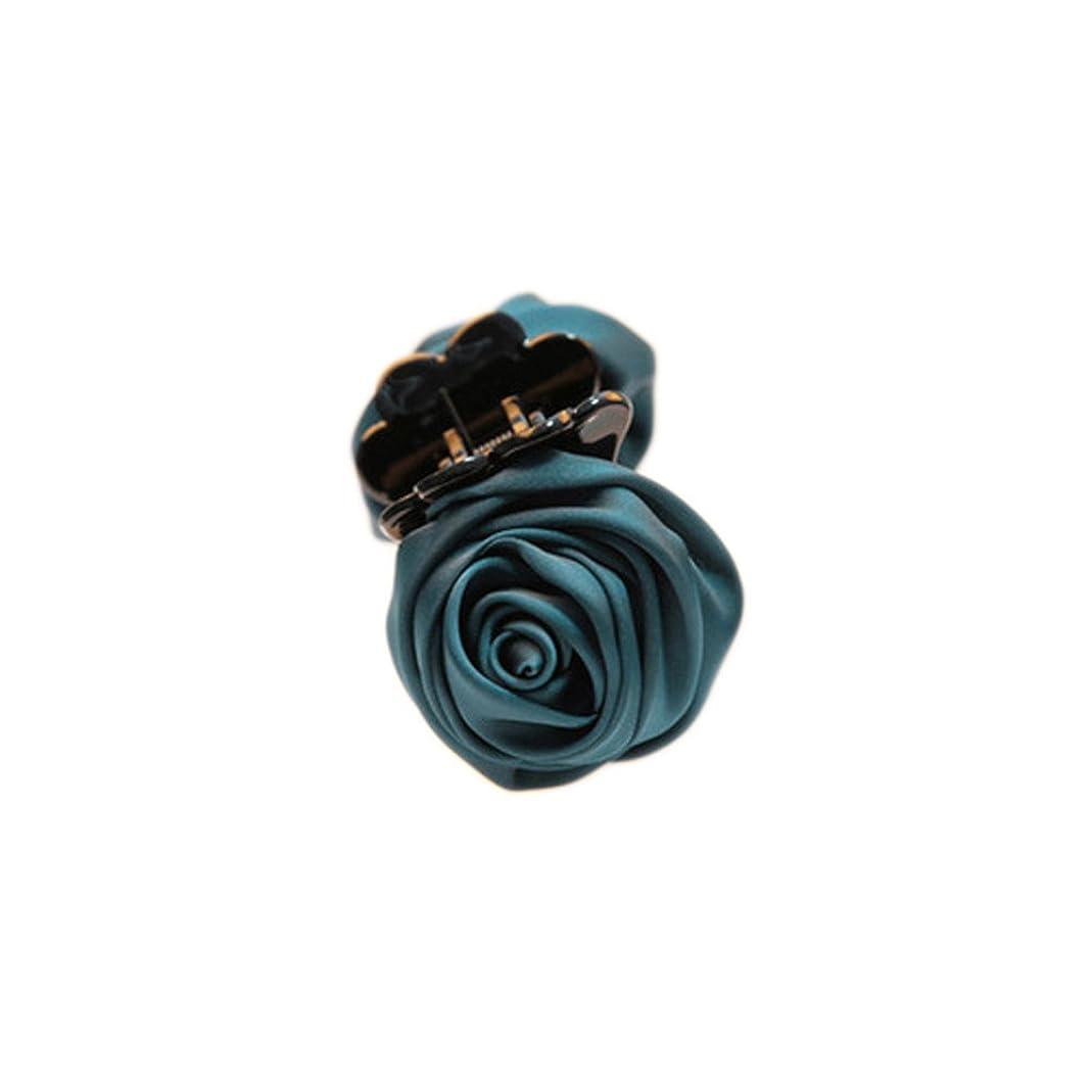 ロックセメント代理店skyflyings 髪飾り ヘアピン ヘアアクセサリー 綺麗なローズの形 7色を選択できます レディーズ 日常用
