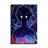 Anime Mob Psycho 100 Leinwand-Kunst-Poster und