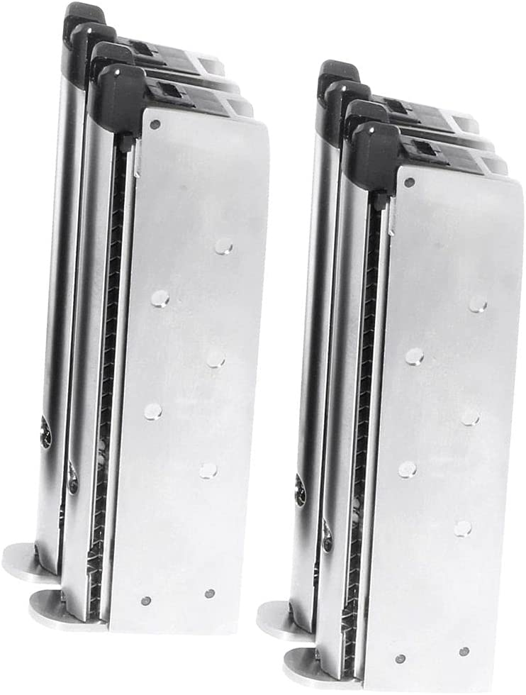Max 62% OFF Albuquerque Mall Airsoft Spare Parts WE WE-TECH 2pcs Mag Barrel Gas 32rd Double