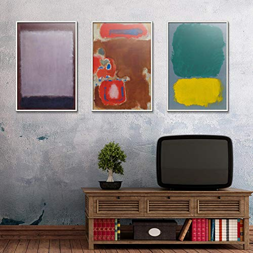 Abstracte druk in Amerikaanse stijl olieverfschilderij spray canvas waterdichte vierkante Airbrush poster kunst-60 x 60 cm X3P No Frame