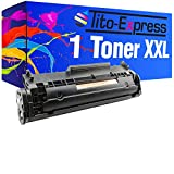 Tito-Express PlatinumSerie 1 Toner XXL kompatibel mit HP Q2612A 12A Laserjet 1010 1012 1015 1018 1020 1022-N 1022-NW 1028 3015-AIO 3020-AIO 3030-AIO 3050-Z 3052 3055 M1005-MFP M1319 M1319F