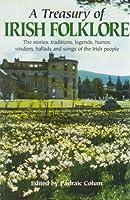 Treasury of Irish Folklore 0517420465 Book Cover