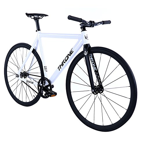 New Throne Phantom Series (Limited) Series Complete Track Bike (White, 50)