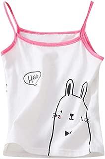 Lanhui Girls Puberty Underwear Foam Bra Vest Children Underclothes Sport Undies Clothes Free Size, H