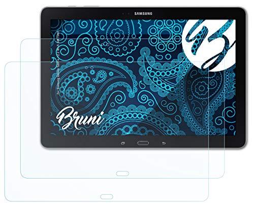 Bruni Schutzfolie kompatibel mit Samsung Galaxy TabPro 12.2 Wi-Fi SM-T900 Folie, glasklare Bildschirmschutzfolie (2X)