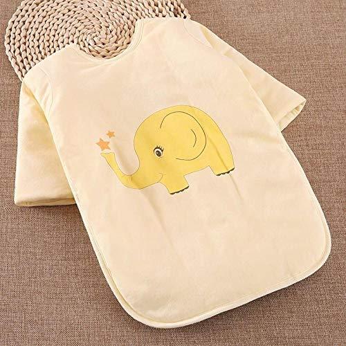 Saco dormir bebés bebé dormir anti-patadas 0-5 años-yellow_90cm