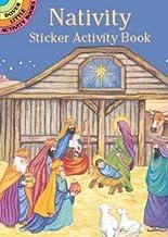 Nativity Sticker Activity Book (Dover Little Activity Books Stickers)