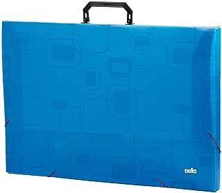 MALETA A3 DELLOFINE AZUL, DELLO, 2151C.0005, Azul, pacote de 5