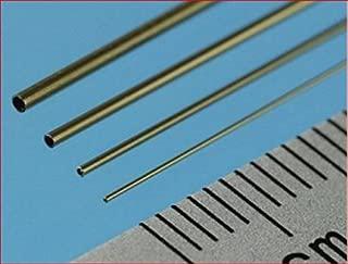 Slide Fit Brass Tubes 4mm, 5mm, 6mm (12