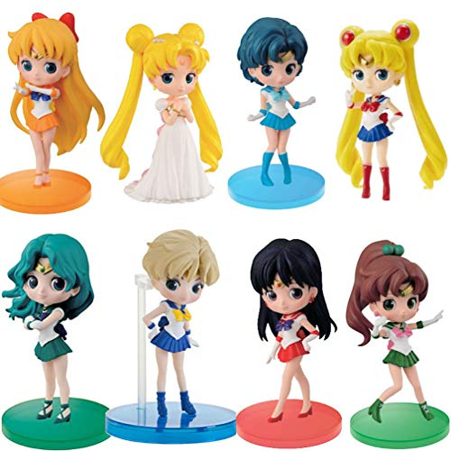 Sailor Moon Figuras Colección sailor moon figura  Marca EASTVAPS