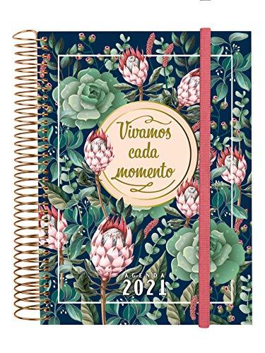 Finocam - Agenda 2021 1 Día página Espiral Design Collection Momento Español