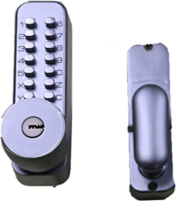 KDBSZ Q106 Smart Lock, Safely Lock, Password Key, and Normal Key, Door Lock for Home, Office, Hotel and Apartment.