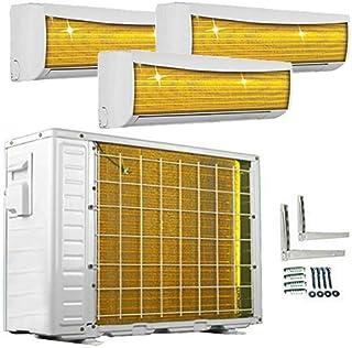 A + +/A + +/A + + Trio Split Golden de fin 9000+ 9000+ 9000hasta 12000+ 12000+ 12000BTU multisplit Aire Acondicionado Inverter Aire Acondicionado y calefacción Wi-Fi Ready, Blanco, 230.00V