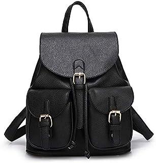 QM61 Fashion Backpack for Women - Black