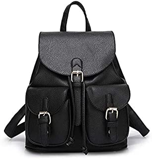 QM61 Fashion Backpack for Women - Black