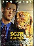 Scott + Huutsch - Tom Hanks - Mare Winningham - Filmposter A1 84x60cm gefaltet