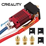 Creality Upgraded Kit hotend estrusore assemblato per Ender 3 Ender 3 Pro con Capricorn tubi in PTFE Bowden, coperchio in silicone per stampante 3D e ugello da 0,4 mm
