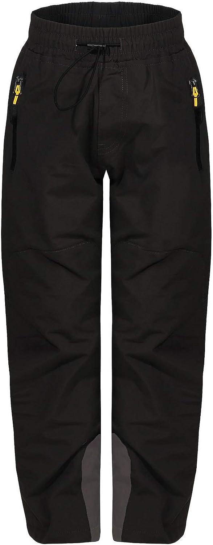 Automne Pantalon de randonn/ée Hiver Pour le trekking ZARMEXX Pantalon thermique pour enfant gar/çon fille Pantalon de ski