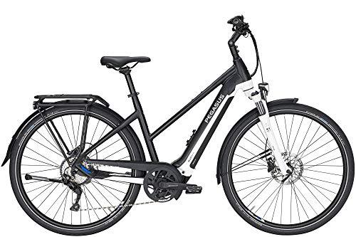Pegasus Premio EVO 10 Light Trekking Pedelec catena a 10 marce CX 625Wh 17,4 Ah bicicletta da donna con cambio a 10 marce, nero opaco Bosch