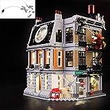 Juego de luces LED USB DIY Compatible con Lego Marvel Avengers Sanctum Sanctorum Showdown 76108, Kit de luz LED para bloques de construcción (Sanctum Sanctorum Showdown) Modelo Niños Regalos de Navida