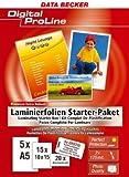 Laminierfolien Starter-Paket -