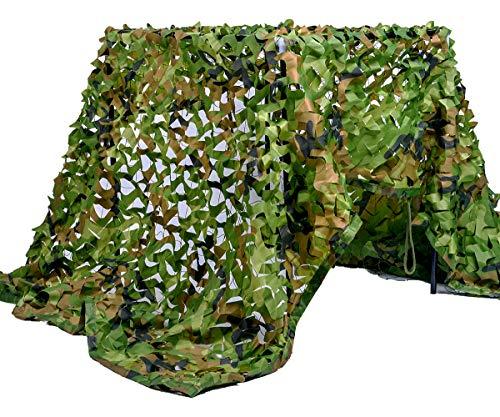 Velity - Red de camuflaje para caza, camping, paisaje forestal, exterior, jardín, fiestas, decoración, sombrilla, woodland, 2 × 5 M