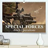 Special Forces Army Operations (Premium, hochwertiger DIN A2 Wandkalender 2022, Kunstdruck in Hochglanz): Missions with the most advanced technology (Monthly calendar, 14 pages )
