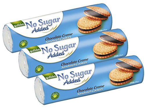 Gullon No Added Sugar Biscuits Schokoladencreme 3 Packungen