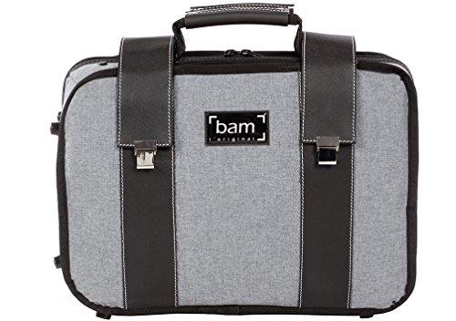 Bam 3028GF - Funda doble para clarinete, color gris