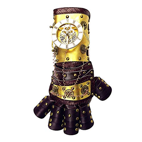 It will match perfectly well with the steampunk clothing for you, Is the best ornament of cosplay. The perfect Victorian Gothic Jacket costume available to suit a pirate, cyberpunk, goth, or steampunk outfit. Dimension: 37 x 13 x 13.5cm / 14.6 x 5.1 ...