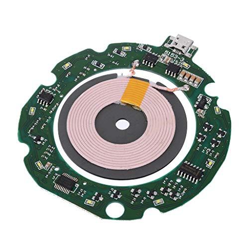 Gjyia 10W Qi Cargador inalámbrico rápido estándar PCBA Módulo de transmisor de Placa de Circuito con Bobina DIY para teléfonos Inteligentes Accesorios