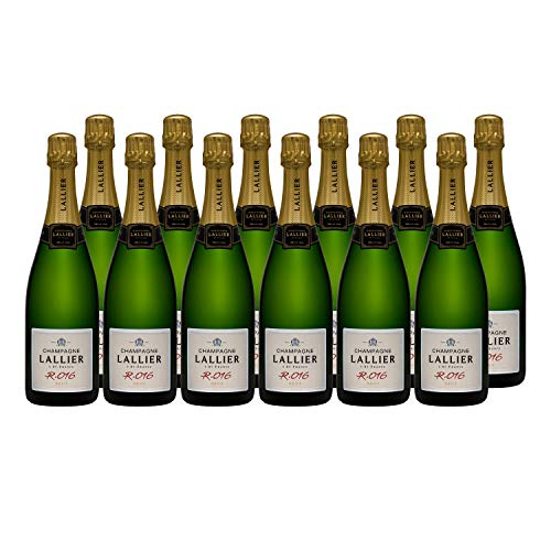 Champagne Grand Cru Série R16 - Champagne Lallier - Rebsorte Pinot Noir, Chardonnay - 12x75cl