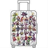 ZAQ Marvel Hero Avengers Union Maleta Pegatina Raytheon Iron Man Pegatina Maleta Impermeable