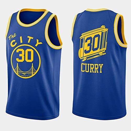 Camiseta de baloncesto para hombre, edición clásica 2020-21 de Stőphőn, de malla, de secado rápido, para fans Classic Edition-M