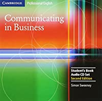 Communicating in Business Audio CD Set (2 CDs) (Cambridge Professional English)