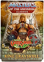 HeMan Masters of the Universe Classics Exclusive Action Figure King Grayskull with Orb