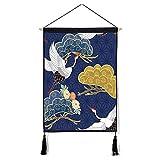 mmzki Patrón de Dibujos Animados japoneses Imagen Colgante Dormitorio algodón Lino Arte Colgante...