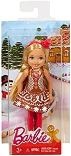 Chelsea Dolls Barbie Christmas in Gingerbread Dress