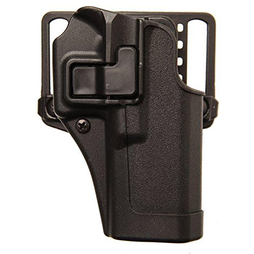 BLACKHAWK Serpa CQC Holster fits Glock 42, Right Hand, Black