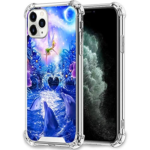 Disney Collection Disney Collection Clear Anti Fall Phone Case Iphone 11 Pro Max Reinforced Tpu Bumper Protection Anti Scratch Clear Tpu Crystal Edges Tinker Bell Wallpaper From Amazon Daily Mail