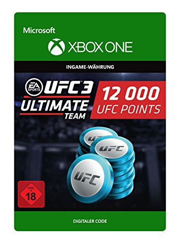 UFC 3: 12000 UFC Points | Xbox One - Download Code