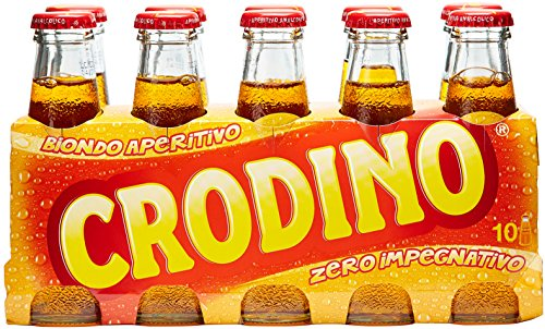 Crodino aperitief zonder alcohol, 10 x 100 ml