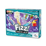 FIZZ! Chemistry Science Kit for Kids (Ages 8+) - Build 32+ STEM Career Experiments and Activities | Make Your Own Foam, Crystals, Magic Tricks, and More | Educational Toys | STEM Authenticated