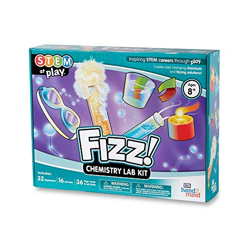 FIZZ! Chemistry Science Kit for Kids (Ages 8+) - Build 32+...