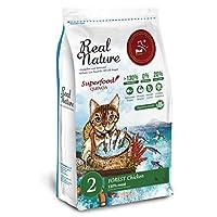 Real Nature Holistic Cat Food リアルネイチャー NO.2 フォレストチキン (機能性フード・消化器の健康) (4kg)